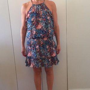 Parker pink dress